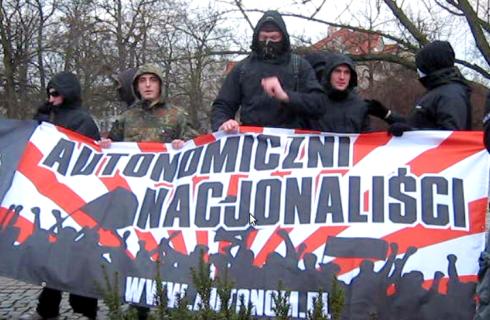 autonomiczni nacjonalisci z warszawy narodowi socjaliści