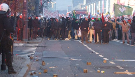 Faszyści z ONR kierują bojówkami na Marszu Niepodległości